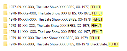The Late Show BFBS